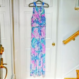 Lilly Pulitzer Martina Maxi Dress XL